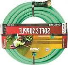 Swan Soft & Supple Heavy Duty Garden Hose, 5/8 in ID 75 ft L