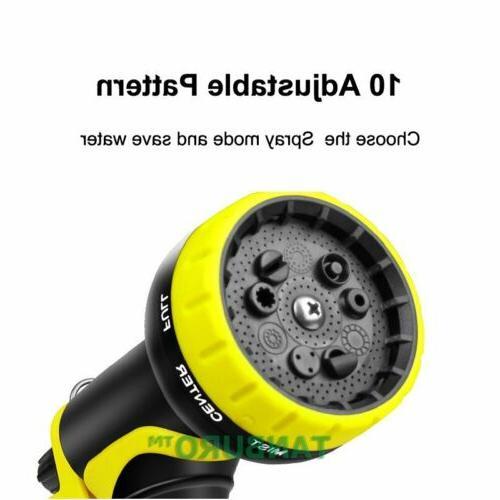 TANBURO 3X Deluxe 100 FT Flexible Garden Nozzle Head