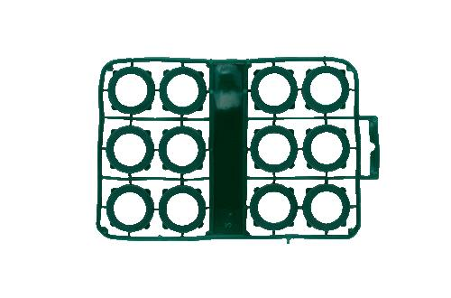 Orbit Vinyl Garden Hose Washers - 12 pk