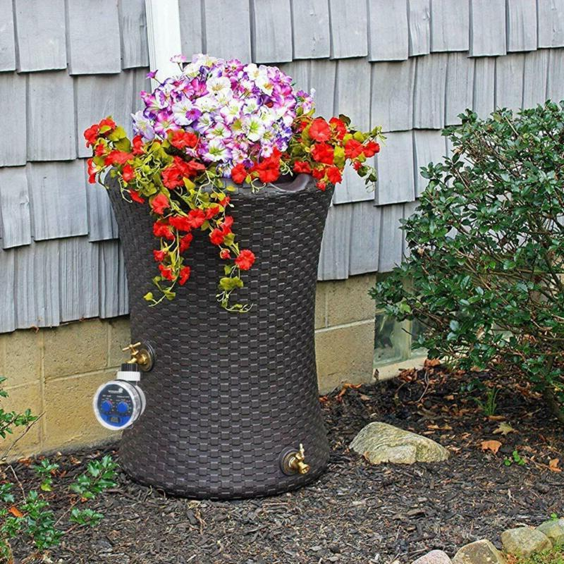 Water Timer Electronic Sprinkler Garden Two