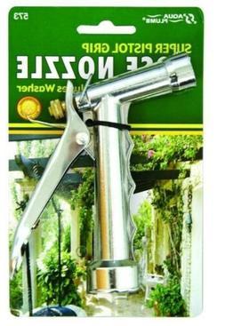 """Aqua Plumb Large Chrome Pistol Hose Nozzle, 5-1/2"""""""