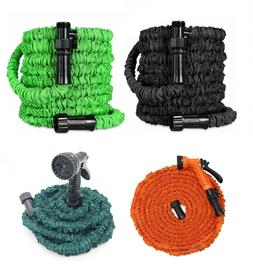 Latest Deluxe Expandable Flexible Garden Hose + Spray Nozzle