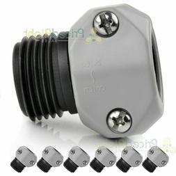 Lot of 6 Bond Garden Water Hose Male Coupler Connector 5/8 -