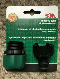 ACE Male-Garden-Hose-End-Repair-Compression-Coupling With Ma