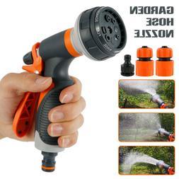 Orbit Max 8 Pattern Nozzle Spray Hose Garden Water Adjustabl