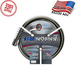 NeverKink MAX Hose 5/8-in x 100-ft Premium Kink Free Vinyl G