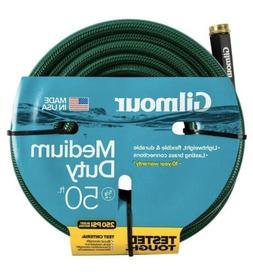 Gilmour Medium Duty Garden Hose, 50 Ft., 250 PSI, Lightweigh