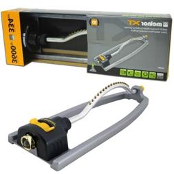Melnor XT Metal Turbo Oscillating Sprinkler; Waters up to 36