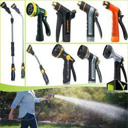 Multi-Pattern Adjustable Nozzle Guns & Extension Wand Garden