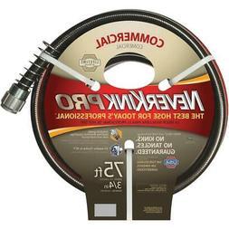 Neverkink Pro 3/4 In. Dia. x 75 Ft. L. Commercial Garden Hos