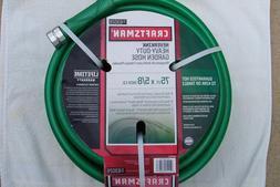 CRAFTSMAN NeverKink Heavy Duty Garden Lawn Water Hose 75' x