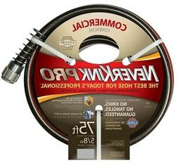 Teknor Apex Neverkink  8844-75 PRO Water Hose,  5/8-in x 75-