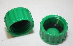 New set 2 Plastic Garden Hose End Caps Hose Terminators rubb