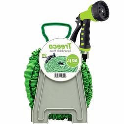 Treeco New Expandable Garden Water Hose kit 50 ft Kink-Free