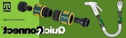 NEW ~ MELNOR QUICK CONNECT GARDEN HOSE SYSTEM CONNECTOR ADAP