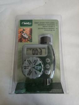 Orbit One-Dial Garden Hose Faucet Water Timer, Multilingual