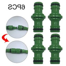 Pipe Joint Double Male Garden Watering Quick Accessories Hos
