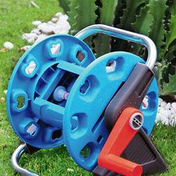Portable Wall-Mount Garden Pipe Water Hose Reel Organizer Ha