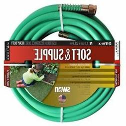 """SWAN PRODUCTS Soft Supple Reinf Rubber/vinyl 5/8"""" x 50&"""