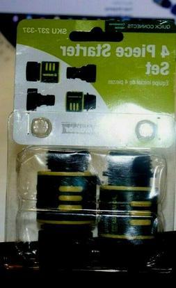 Melnor Quick Connect 4-Piece Garden Hose Kit Plastic SKU237-