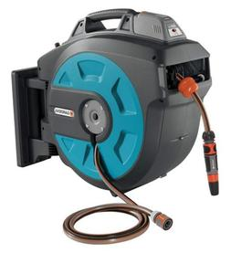 GARDENA Retractable Battery Operated Hose Reel 115-Feet With