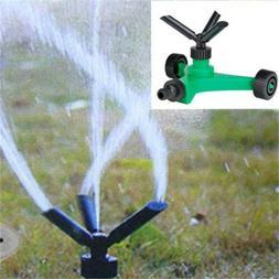 Rotating Impulse Lawn Sprinkler Garden Grass Watering System