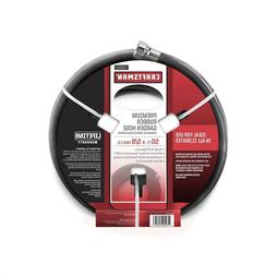 Craftsman All Rubber Garden Hose 5/8 In. 50 Ft Long Durable