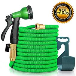sicall 50ft Expandable Garden Hose, All New Hose Set with So