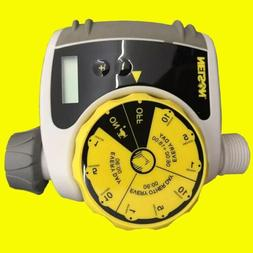 New Single-Dial Water Timer Water Pressure Garden Hose Tools