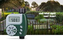Single Outlet Hose Faucet Timer Large Digital Display for Ya