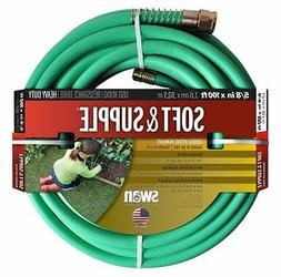 Swan Soft And Supple SNSS58100 5/8-Inch x 100-Foot Green Gar