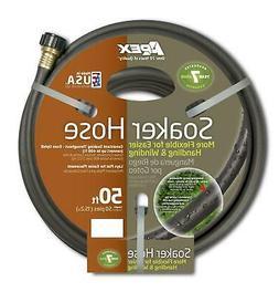 Soil Soaking Soaker Hose Vinyl Apex Lawn Garden Watering 50-
