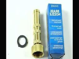 INNAV8 Solid Brass Garden Hose Nozzle Heavy Duty - HIGH Pres