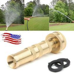solid brass garden nozzle heavy duty 4
