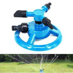 sprinkler circle rotating garden hose irrigation automatic