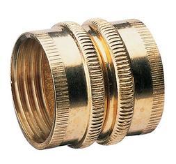 Nelson Sprinkler 50574 3/4 in Double Female Brass Pipe Fitti