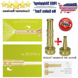 Sun Joe SJI-4BHNC Ultimate Solid Brass, Heavy Duty Adjustabl