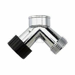 Two-Way Hose Connector, Hose splitter, metal garden hose spl