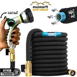 Ultimate Best Expandable Garden Hose 25/50/75/100 ft Black T