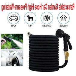 Universal Car Wash Hose Set Garden Spray Gun Nozzle Stretch
