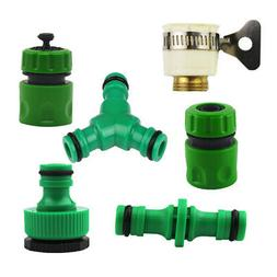 Universal Garden Watering Hose Pipe Faucet Plastic Connector