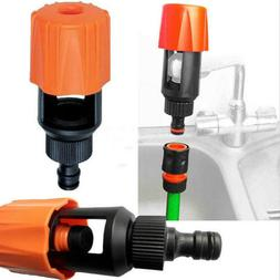 Universal Tap To Garden Hose Pipe Connector Fitting Mixer Ki