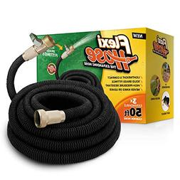 Flexi Hose Upgraded Expandable 50 FT Garden Hose, Extra Stre