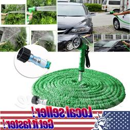 US SHIP 25 50 75 100 200 ft Magic Hose Home Garden Expandabl