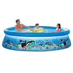 Intex 28125EH 10ft X 30in Ocean Reef Easy Set Pool Set with