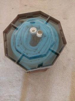 "ZERO-G 1/2"" x 100' Teknor-Apex Garden Hose #4003-100 Blue Co"