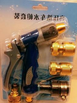 Zinc Alloy High Pressure Garden Hose Sprayer w/ Quick Connec